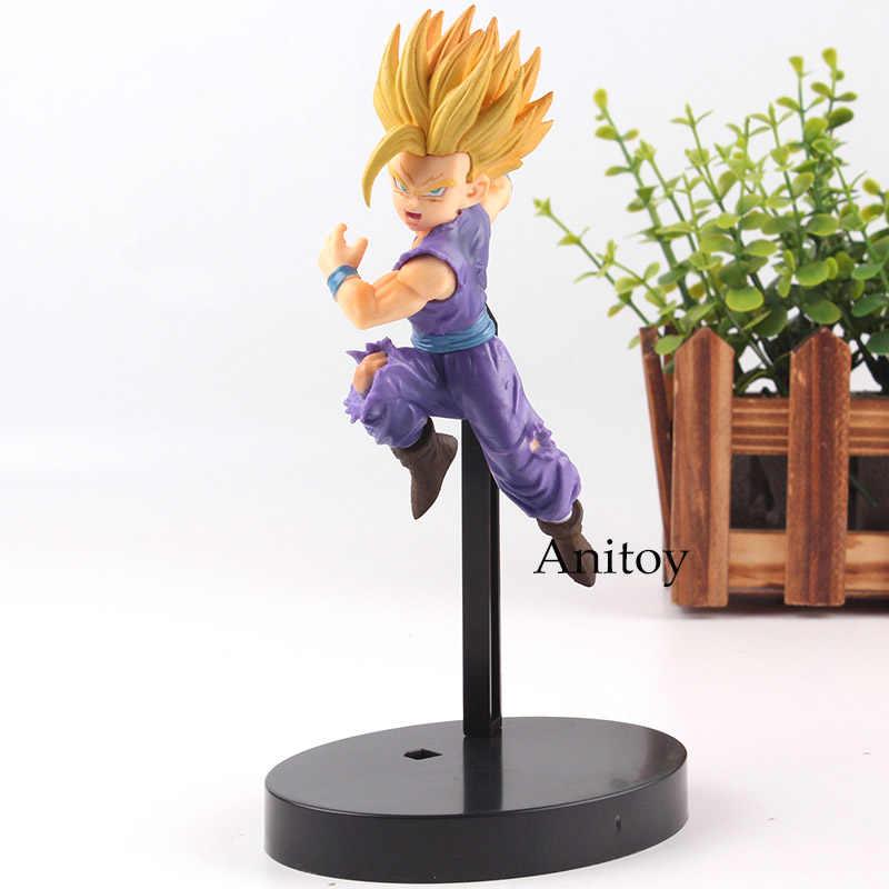 Figura de ação Dragon Ball Super Guerreiros 2 Son Gohan Super Saiyan Dragon Ball PVC Brinquedos Coleção Modelo Toy 13 cm