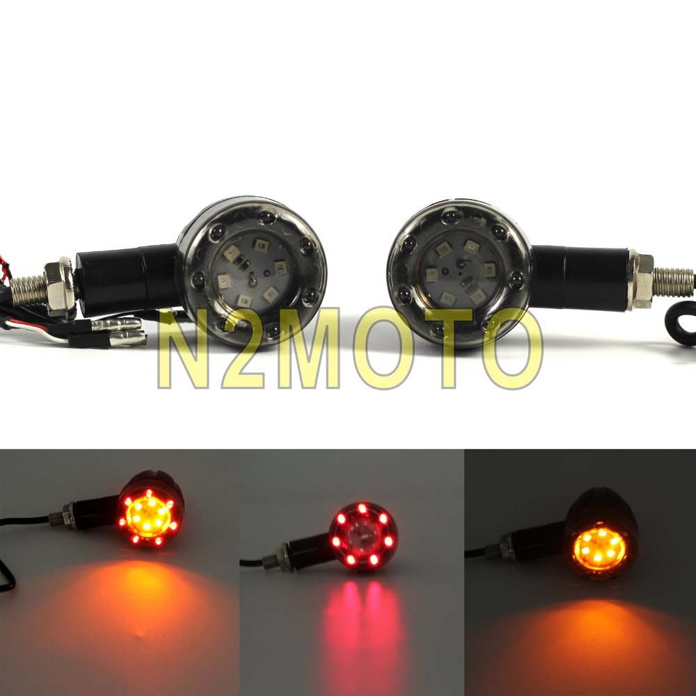 3In1 DRL Brake Flowing Turn Signal Indicator Lights Lamp Replace 24LED 3 Colors