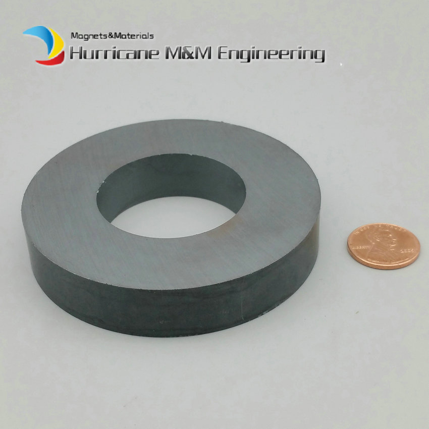 1-4 pcs/lot Ferrite Magnet Ring OD 80x40x15 mm 3 large grade C8 Ceramic Magnets for DIY Loud speaker Sound Box board home use 12 x 1 5mm ferrite magnet discs black 20 pcs