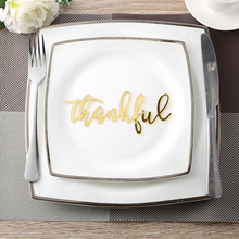 Thankful Place Cards,Thanksgiving Name Plates,Thankful Acrylic Sign Word, Holiday Decor,Thanksgiving settings