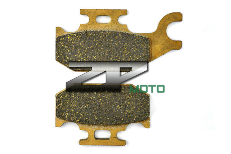Brake Pads For BRP CAN-AM Renegade 800 R (XXC) 2011 Outlander Max 800 R XT 2009-2010 Front(Left) & Rear OEM New High Quality f r brake pads set for malaguti 125 160 ie blog ie160 2010 2009 2011