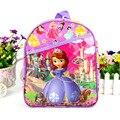 IVI Dulce lindo de la historieta de la Princesa Sofía de mini mochila bolsa de kindergarten bolsa de la escuela niños niñas niños como navidad año nuevo regalo