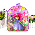 IVI Sweet cute cartoon Princess Sofia kindergarten school bag kids girls bag children's mini backpack as christmas new year gift