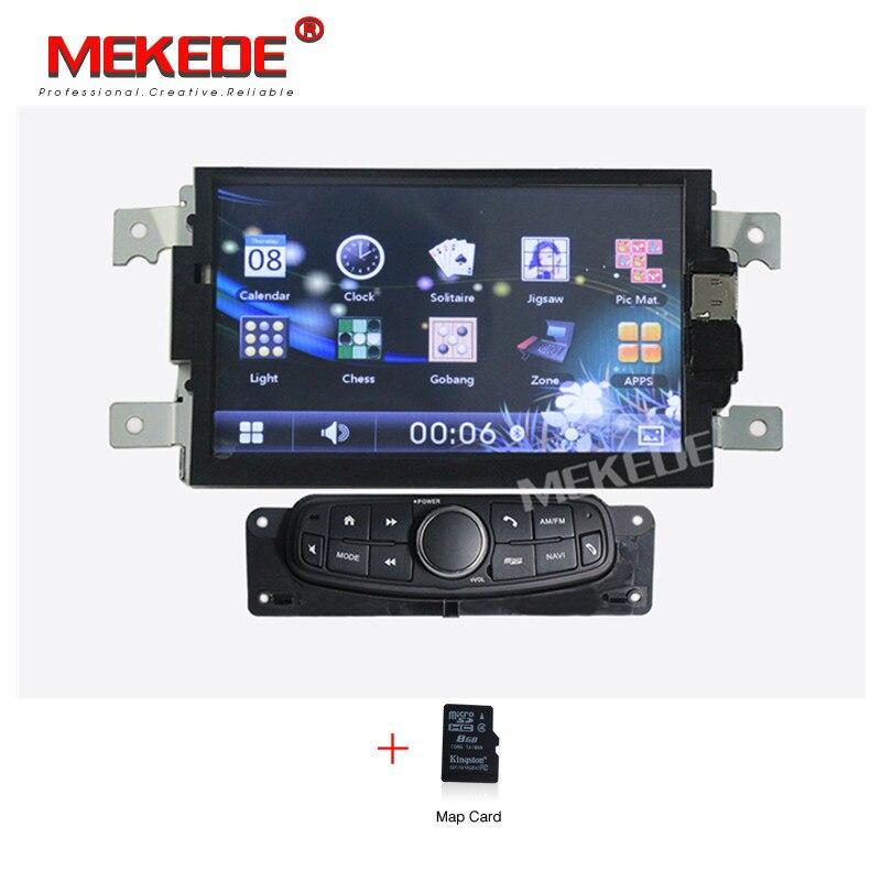 Livraison gratuite carte gratuite carte cadeau 7 pouces voiture radio cassette lecteur multimédia pour geely gc6 avec Multi-langue menu bluetooth