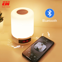 Dropship Bluetooth music Night Light RGB app control bed lamp Smart LED Lamp USB Charge Indoor Home Decoration Lights ZYD0002