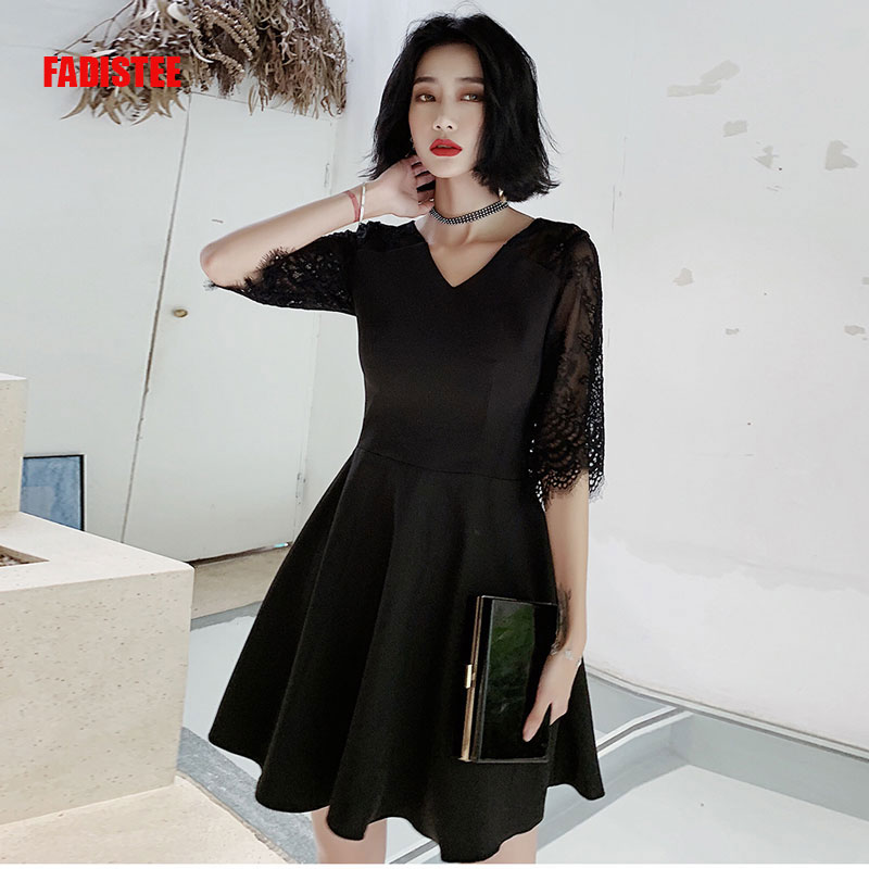 FADISTEE   Cocktail     Dresses   communion   dresses   short style   Dresses   Women little black   dresses   vestido de novia tassel prom party