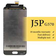 For J5 prime lcd screen 5 inch replacement assembly no dead pixel For mobile phone G570 SM-G570F G570F lcd display lcd display for samsung galaxy j5 prime g570 g570f g570m on5 2016 touch screen digitizer assembly replacement parts 5 0