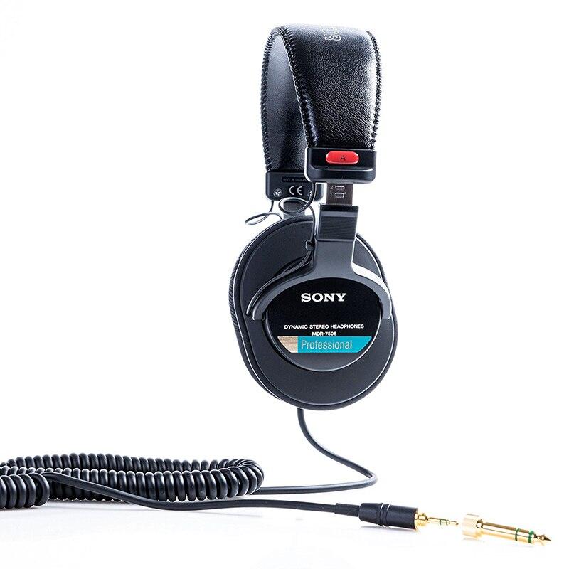 Original Sony sur l'oreille casque casque inclus DJ moniteur bruit annuler écouteur 3.5 MM/6.3 MM pour Xperia XZ3 Iphone SAMSUNG - 3
