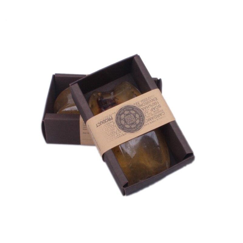 Handmade Organic Jasmine Powder Soap Moisturizing Whitening Cleansing Soothing Jasmin Oil Soap Cleansing Bath Bar Soap