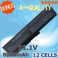 12 cell Laptop Battery For Toshiba Satellite Pro C650 C660D L630 L670 U400 U500 C650D C660 L640 T110 T115 U405D T135 U400 U405