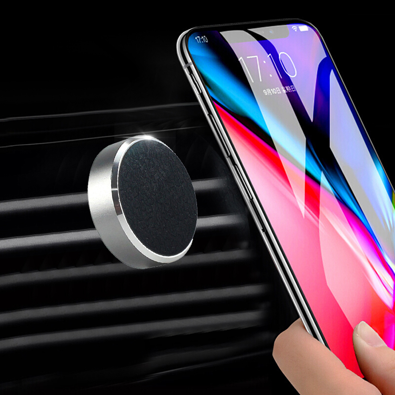 Universal Magnetic Car Phone Holder Stand Bracket For IPhone X 7 For Samsung For Xiaomi Mobile Phone Stand GPS Car Styling Tools