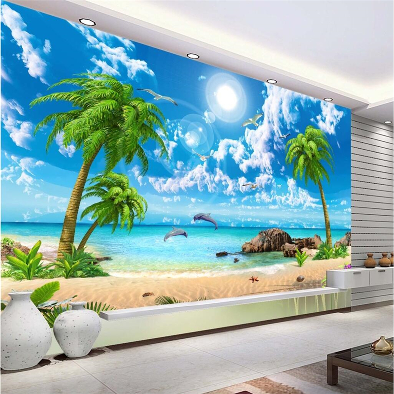 Beibehang Customize Any Size Mural Wallpaper Hd Beautiful Dream