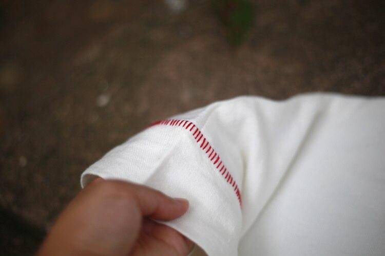 Sommer Casual Kleider Leinenstickerei Frauen Solide Weißes Kleid - Damenbekleidung - Foto 6