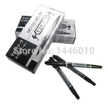 10pcs/box Tattoo And Body Art Skin Marker Pen Black Thin Thick Piercing Tattoo Surgical Skin Marker Stencil Pen