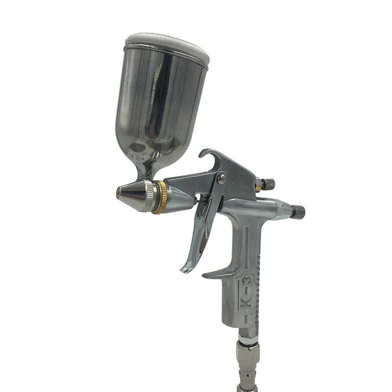 Gravity Feed SAT1109 Alta Pressão 0.5mm K-3 Pistola Pneumática Auto Tinta Spray De Ar da Pistola de Pintura