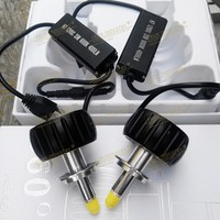 2 Pcs One Pair New Model Best Quality 80W 8000lm 360 3D LED HEAD LIGHTS Head