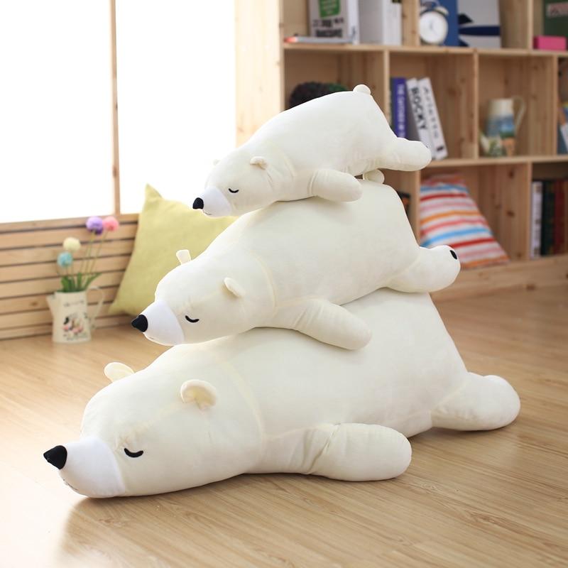 2016 cute polar bear plush dolls, doll Papa Bear, Polar Bear plush toys simulation, large cloth doll pillow birthday gift подгузники polar bear canada 31