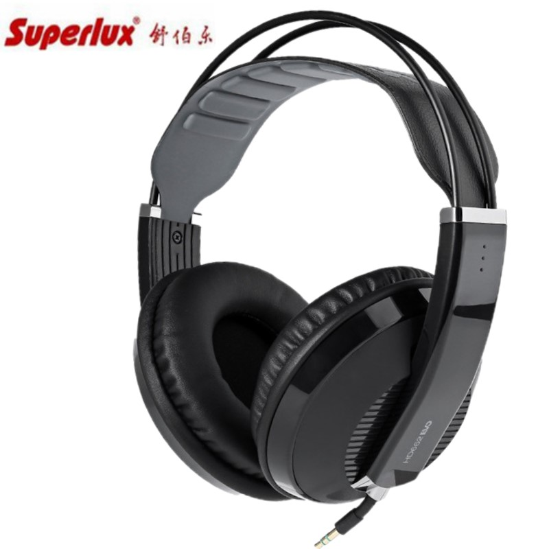 Superlux HD662EVO Closed Dynamic Professional Monitoring Headphones Earphones For PC Music Studio Onstage