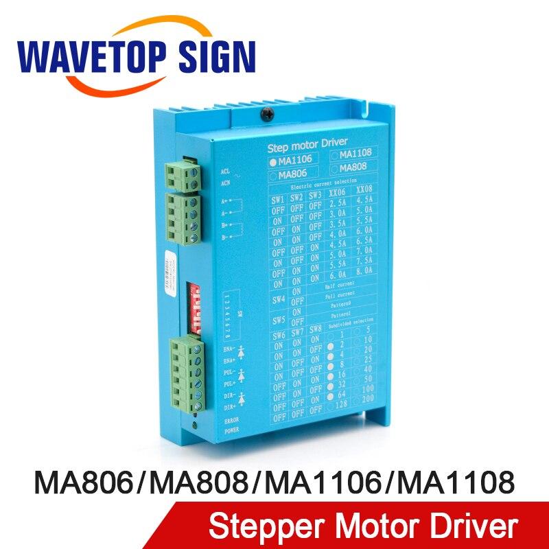 2 Phase Digital Stepper Motor Driver MA1106 AC110V 6A Match 86 Motor MA806 AC80V 6A Match