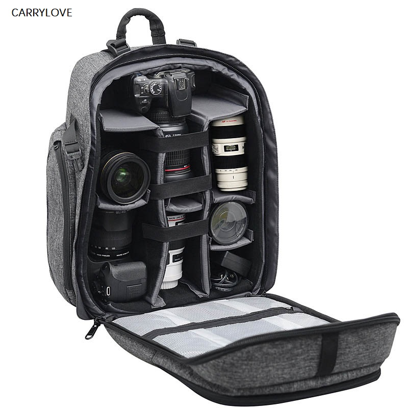 CARRYLOVE Shoulders Multifunction Photography Travel bag Photographer professional Backpack High Capacity Shockproof TrolleyCARRYLOVE Shoulders Multifunction Photography Travel bag Photographer professional Backpack High Capacity Shockproof Trolley