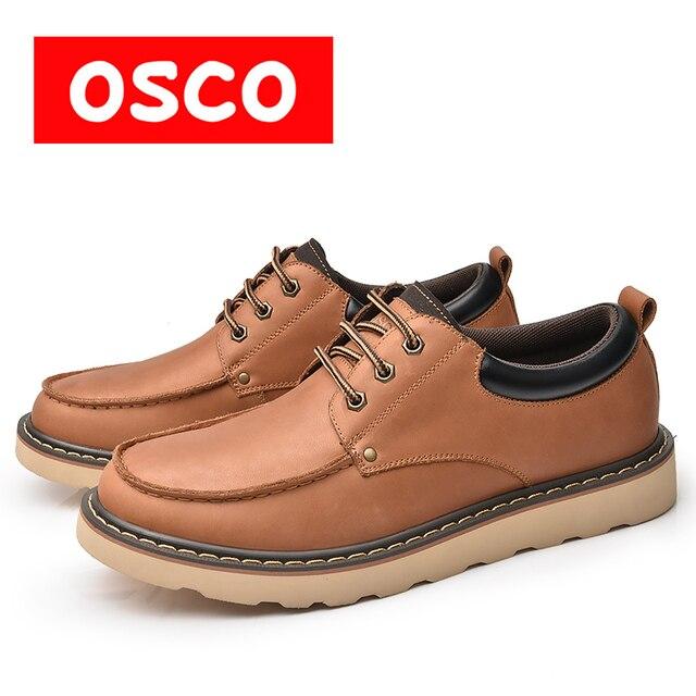 Оско фабрики всесезонные Новая мужская обувь модные повседневные мужские ботинки # a3575