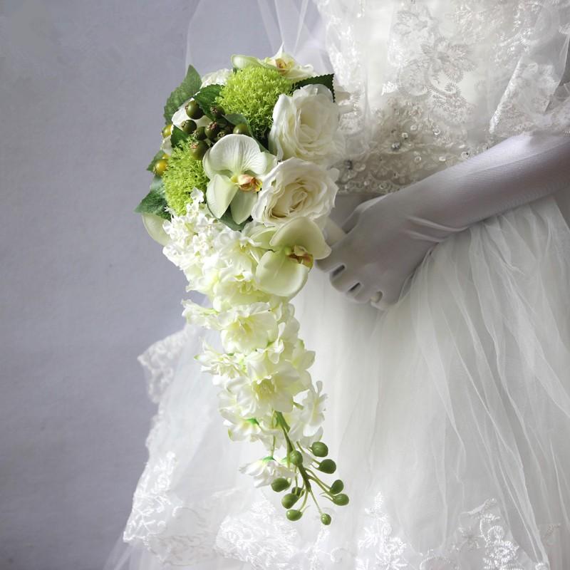wedding flowers bridal bouquets roze