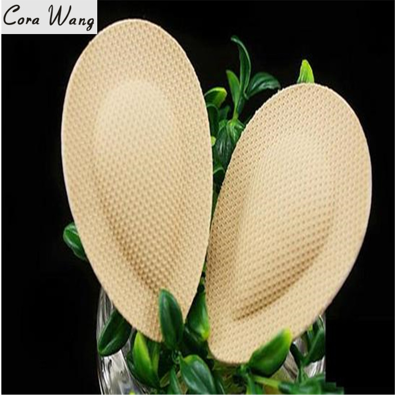 CORA WANG 1 PAIR Foot Care Half Insole Cushion Heel Feet Insoles Transparent Arch Front-feet Protector Shoe Pads DD2ISA1015