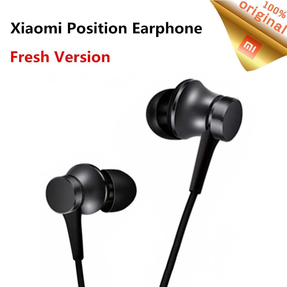 Original Xiaomi Mi Newest Earphone Piston Fresh Version In Ear 35mm Huosai 2 Colorful Edition Youth Earphones Wired