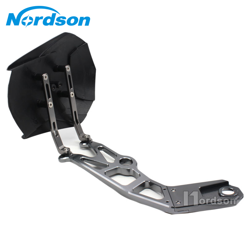 Nordson Motorcycle Fender CNC Aluminum Motorcycle Rear Fender Bracket Motorbike Mudguard For kawasaki Z800 ZR800 cnc aluminum rear wheel tire fender mudguard block for honda msx125 2013 2015 motorcycle rear fender