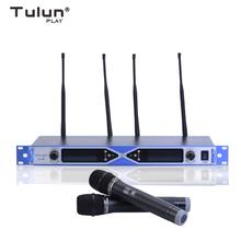 2X100Channel UHF True diversity Handheld Wireless Microphone Above 150 Meters Tulun Play PT728(China)