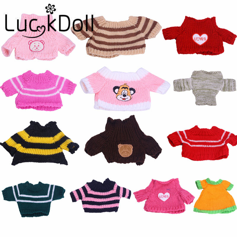 New Arrives Hand Made Small Sweater For 14.5 Inch  Doll Accessories, Children's Gift(Only Clothes)