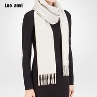 High Quality New Fashion Autumn Winter 100 Pure Cashmere Mens Scarf Brand Women Plain Color Soft
