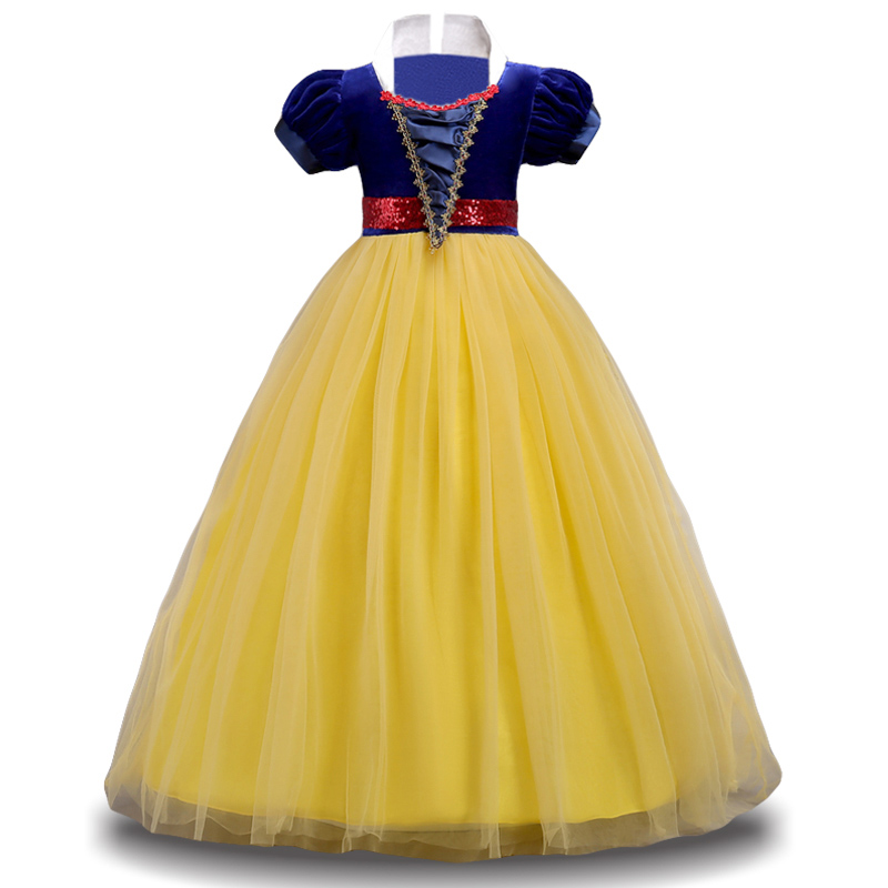 2018 Winter Cinderella Snow White Kids Dresses For Girls Party Princess Dress Christmas Costume Girls Dress Children Clothing stadler form jasmine lime увлажнитель ароматизатор воздуха
