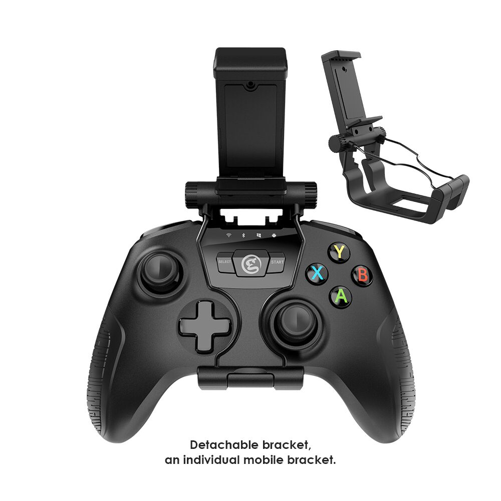 GameSir T2a Bluetooth Wireless USB Wired Controller Gamepad + Phone Holder for PC, Android Phone, TV Box, SteamOS геймпад oem usb xbox360 pc for pc gamepad