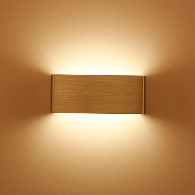 SXZM 5W Aluminum led light bedside fixture led wall lamp modern ...