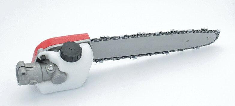 Высокое качество Профессиональная полюсная цепная пила головка для мульти кусторез, триммер для травы полюсная цепная пила насадка, кусторез части - 4