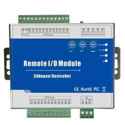 CANopen RTD дистанционного IO модуль измерения Диапазон-120 ~ 420 градусов Цельсия Поддержка предопределенных Master/Slave 4 RTD m240C