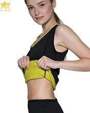 Cn Herb Free Shipping Body Shaper Slimming Sauna Vest For Women Hot Sweat Neoprene Weight Loss Workout Tank Top