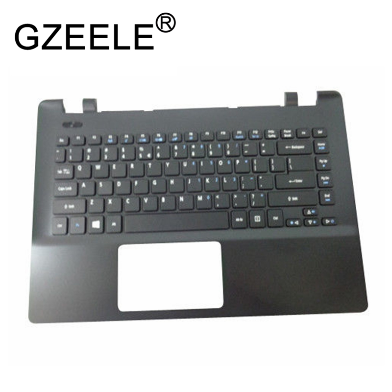 цена GZEELE new for Acer TravelMate P246-M P246-MG series Palmrest Top Case Assembly upper cover keyboard bezel laptop 60.V9TN7.018