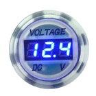 White Voltmeter Mini...
