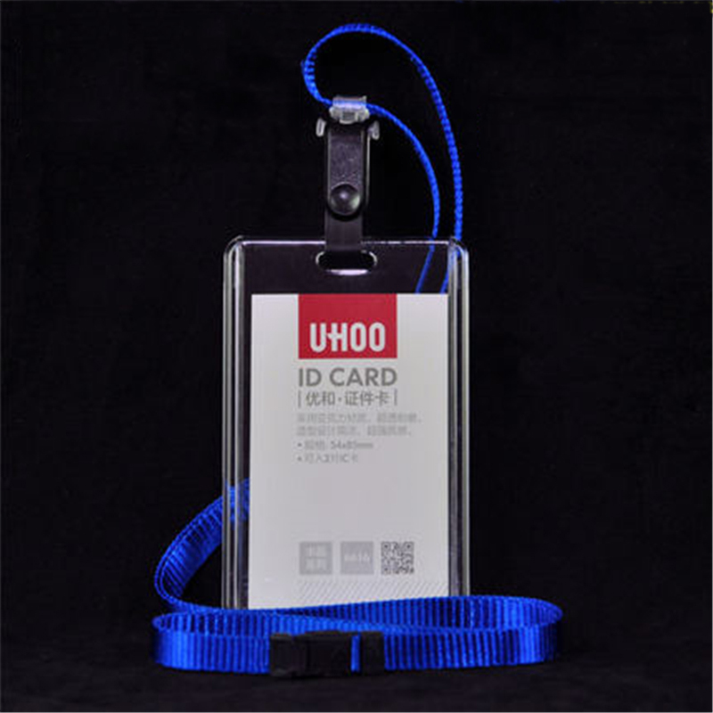 1PC Plastic Passport Cover With Colorful Nack Lanyard Name Badge ...