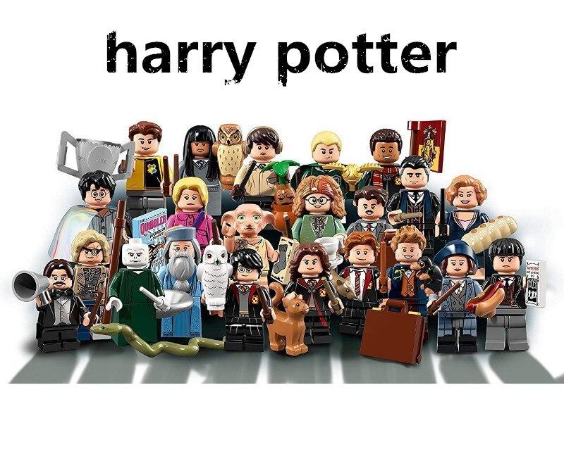 NEW Arrived Harry potter movie Hagrid VOLDEMORT Building blocks little figure Mini legoing birthday gift Toys for children