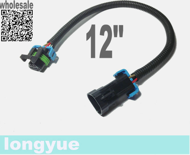 compare prices on chevy wiring harness online shopping buy low longyue 10pcs ls2 ls3 ls7 c6 corvette 2010 chevy camaro oxygen o2 sensor header extension wiring