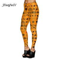Wholesale spandex slim Women Leggings Halloween party Sporting push up Leggings Print Mujer Fitness skinny Leggins for women