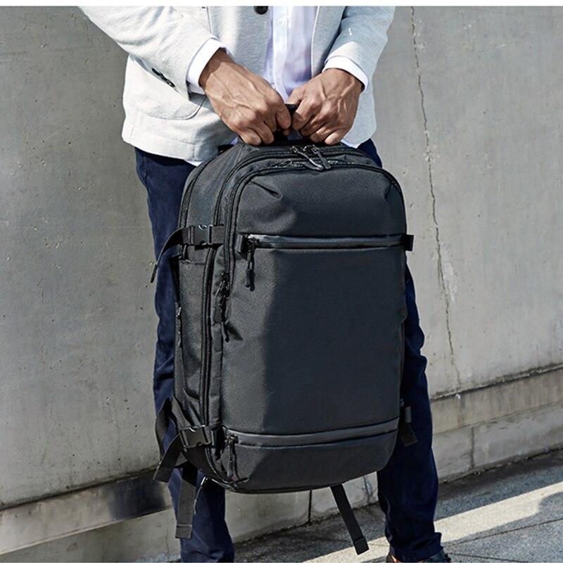OZUKO USB sac à dos hommes voyage Pack sac homme bagages affaires sac à dos grande capacité étanche sac à dos pour ordinateur portable avec chaussures sac - 5