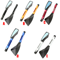 Aluminum CNC motorcycle Side mirror rearview accessories Fits For Kawasaki Z1000 Z800 Z750 EX-300