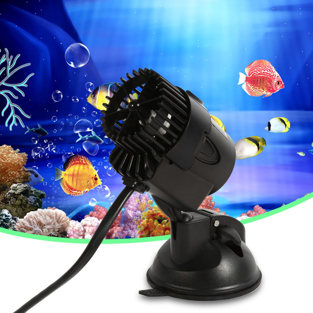 Aquarium fish tank wavemaker - High Efficiency 3w Fish Tank Aquarium Water Wave Maker Pump Plastic Circulation With Suction Cup For