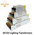 Transformadores de iluminación DC12V Alta Calidad LLEVÓ Las Luces Del Controlador para la Tira del LED fuente de Alimentación 60 W 100 W 200 W 300 W.