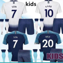 176e0b0bc94 kids kit 2018 Tottenhames shirt KANE Home away 18 19 LAMELA ERIKSEN DELE  SON Away bluel