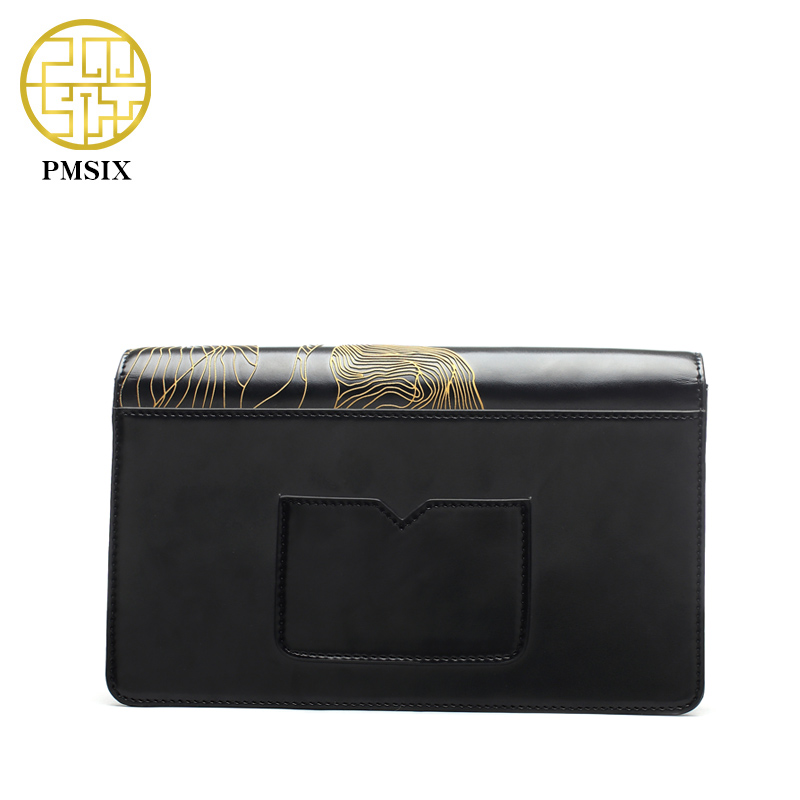 Pmsix 2017 Spring Summer Embossed Flower Leather Shoulder Bag Small Crossbody Bag For Women Fashion Classic Flap Bag P220040